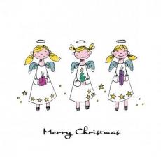 3 Weihnachtsengel - 3 Christmas angels - 3 anges de Noël