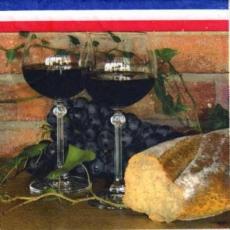 Leckeres aus Frankreich - Wein & Baguette - Vin et baguette