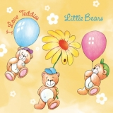 5 kleine Teddies - 5 Little Bears - 5 petits ours