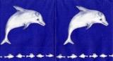 Delphine blau - Dolphins blue