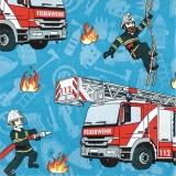 die Feuerwehr ist da