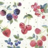 Johanisbeeren, Kirschen, Erdbeeren, Brombeeren, Heidelbeeren und Himbeeren