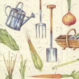Garten Geräte, Mais, Zwiebel, Möhre und vieles mehr