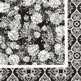 klassisches schwarzes Muster