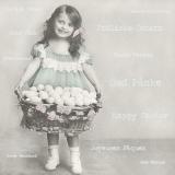 Mädchen mit Eierkorb