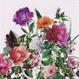 Rosen, Mohn und andere schöne Blumen