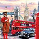 Sehenswürdigkeiten von London, Big Ben, Tower Bridge, Taxi und vieles mehr