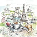 Sehenswürdigkeiten von Frankreich mit Frühstück