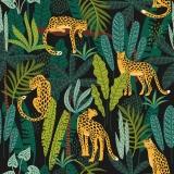 Leoparden im Dschungel