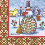 Jim Shore Schneeman - Snowman - bonhomme de neige