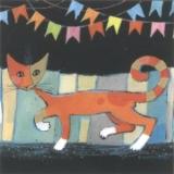 Catwalk  Katze- R. Wachtmeister