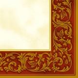Edler Rahmen rot/gold - Noble frame red/gold - Cadre noble rouge / lor