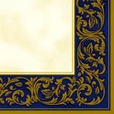 Edler Rahmen blau/gold - Noble frame blue/gold - Cadre noble le bleu / or