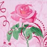 Hearts & a rose