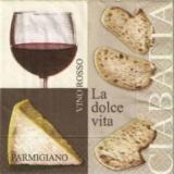 Ciabatta, Parmigiano & Vino Rosso