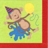 4 Affen feiern