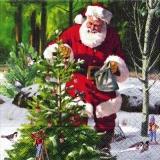Den Weihnachtsbaum schmücken - Santas Christmas tree - Noël larbre du Père Noël