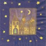 Mond & Sterne über der Stadt - City lights from the sky