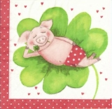Kleines Glücksschwein - Lucky pig - porc chanceux