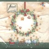 Kleine Weihnachtsgeschichte & Kranz