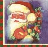 Santa am Weihnachtsabend - Santa Claus on Christmas Eve - Père Noël la veille de Noël