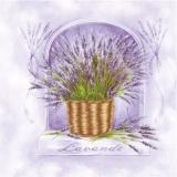 Lavendelkorb - Lavender basket - Lavande panier