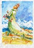 Frühlingsfrau - Lady Spring