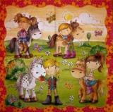 Vielseidig - Mädchen mit ihren Pferden - Girls with their horses - Les filles avec leurs chevaux