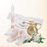 Babys Taufe beige
