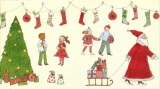 Kinder am Weihnachtsbaum und draußen beim Weihnachtsmann - Children in the Christmas tree and outdoors with the Santa Claus - Enfants à larbre de Noël et au dehors chez lhomme de Noël