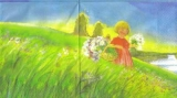 Mädchen auf einer Wiese - Girl & Meadow