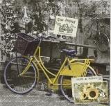 Gelbes Hollandrad - Bycicle - Vélo