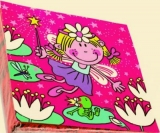Kleine Fee am Froschteich - Little fairy at the frog pond