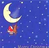 Santa & Rudy auf der Mondschaukel - Merry Christmas