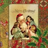 Nostalgisches Weihnachtsfest - Nostalgic Merry Christmas red - Nostalgique de Noël