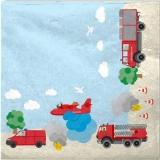 Feuerwehreinsatz - fire services - services d incendie