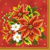 Christstern & Christrosen Strauß - Christians star & Christmas roses bouquet - Etoile chrétienne & roses chrétiennes le bouquet