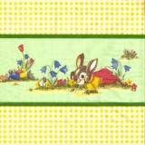 Häschen: Ich freu mich auf Ostern
