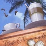 Kaffee unter Palmen - Cafe Promenade