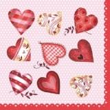 11 hübsche Herzen - 11 pretty Hearts/Love - 11 coeurs jolis / lamour
