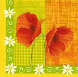2 hübsche Mohnblüten - Country Poppies