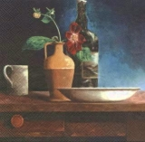 Stilleben mit Krug & Flasche - Still life