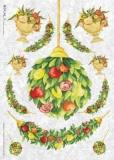 Früchte & Blumen hübsch arrangiert - Flower composition