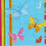 5 bunte Schmetterlinge - Colourful butterflies