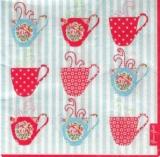 Hübsche Tassen - Pretty cups - Jolies tasses