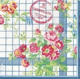 Blumen im Landhausstil - Cottage flowery - Fleurs au style maison de campagne