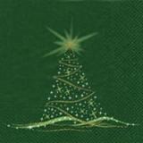 Funkelnder Weihnachtsbaum grün - Sparkling x-mas tree - Mousseux sapin de Noël