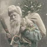 Nostalgischer Weihnachtsmann - Nostalgic Santa - Nostalgique Père Noël
