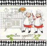 3 Köche - Bon appetit - 3 Chefs - cooking - 3 cuisiniers - nous bouillons