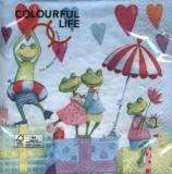 Verliebte Frösche auf einer Feier - Frogs in Love & Party